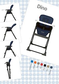 Kinderstoel Dino