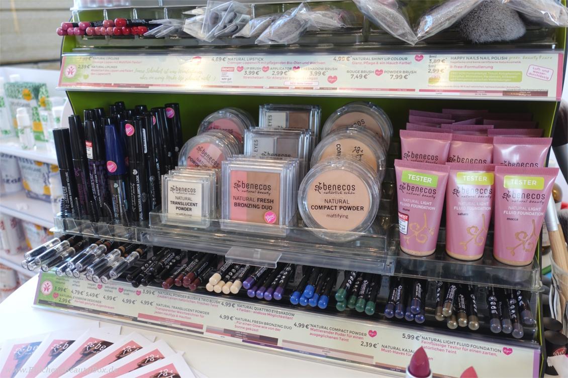 "beautypress ""Green cosmetics"" Naturkosmetik Bloggerevent - benecos Naturkosmetik Kosmetiktheke"