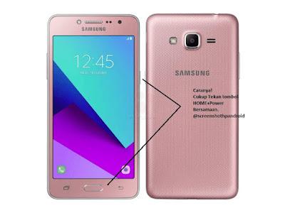 Cara Screenshot Samsung Galaxy J2 Prime image