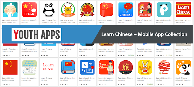 Learn Chinese -Mobile Apps- Youth Apps