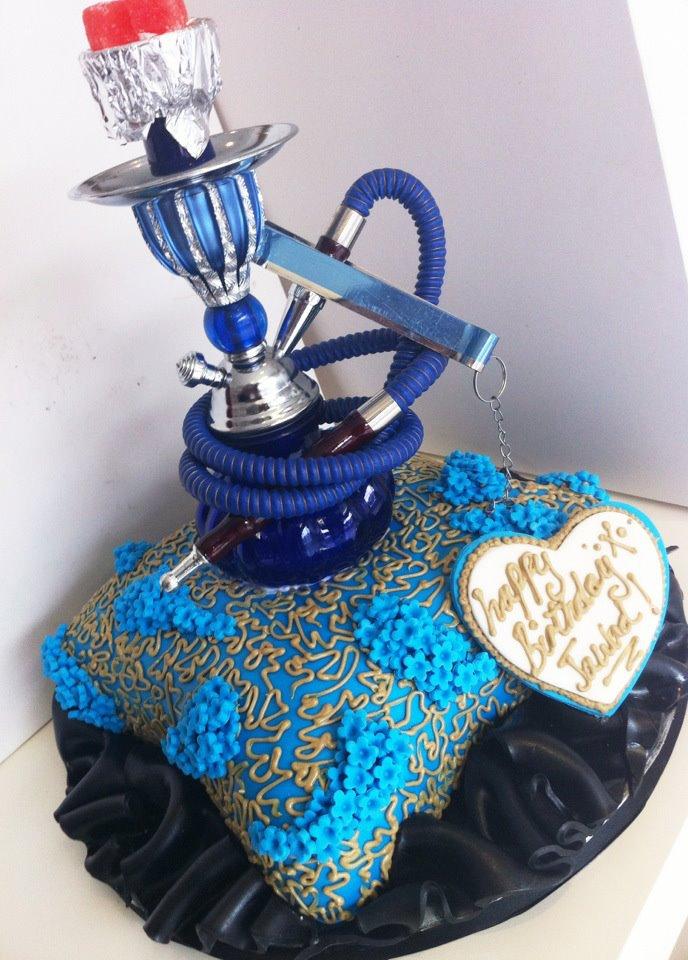 Iced Out Company Cakes Blue Mist Sheesha Cake