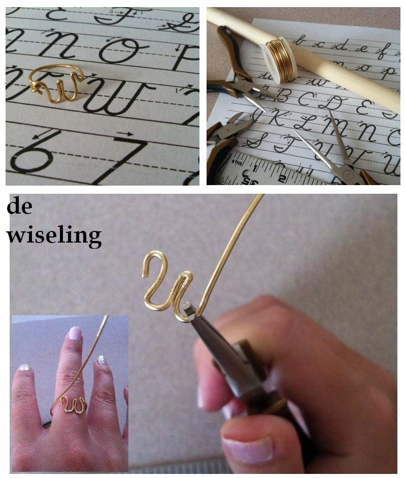 abc, iniciales, alambre, tutoriales, tecnicas, bisuteria, wire