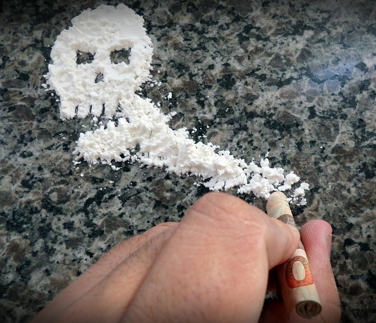 Czaszka z kokainy, banknot