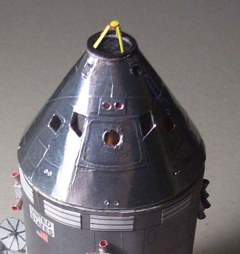 apollo spacecraft paper model - photo #20