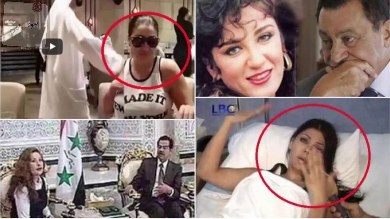 علاقات الفنانين بالروؤساء|احداهن هددها نجله بقتلها واخري انفجرت طائرتها بسببه ..