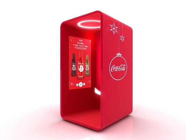 Máquina da Gratidão coca-cola