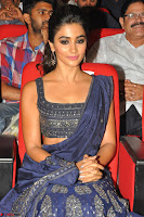 Pooja Hegde choli saree at DJ Duvvada Jaggannadham music launch ~  Exclusive 38.jpg