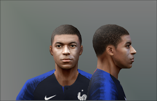 PES 6 Faces Kylian Mbappé by Don_rxf