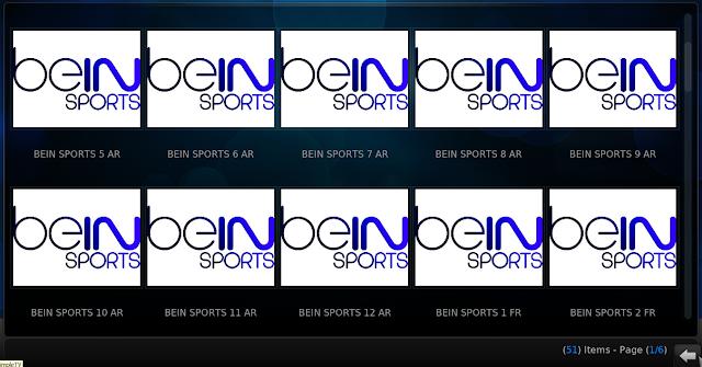 إضافة ADRIAN SPORTS لبرنامج KODI لمشاهدة القنوات الرياضية