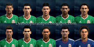 PES 2013 Facepack Mexico Copa America 2016 By Morrissey
