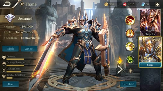 10 Best Arena of Valor (AoV) Hero Tanks, Open War with the ...