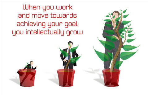 Business Growing tree , business wealth , business man growing