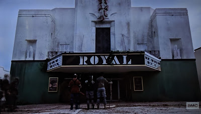 The Kingdom from the Walking Dead Entering Movies