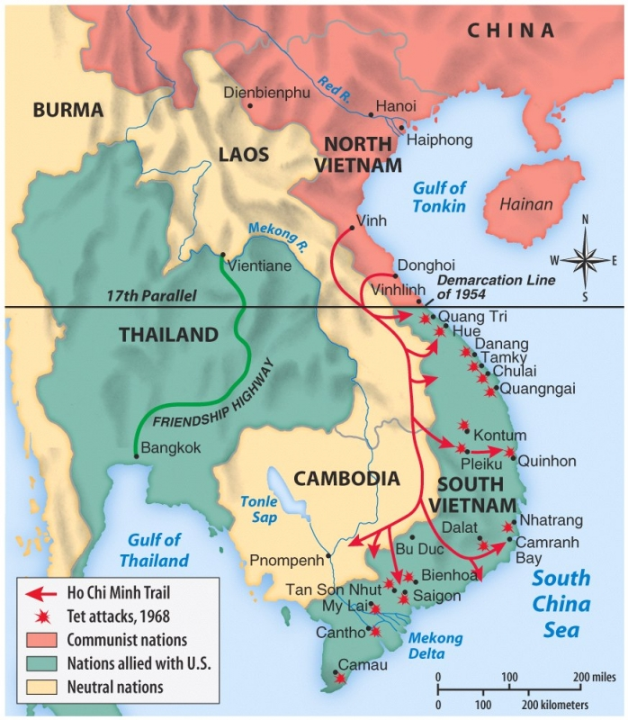 17th Parallel Vietnam Map.Paul Davis On Crime The Truth About The Vietnam War