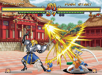 Game PPSSPP Samurai Shodown Anthology ISO Ukuran Kecil English Patched Free Download