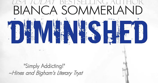 #Review Diminished by @BSommerland #NewRelease #5stars