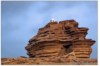 """Arror Rock"" [near Rohri in Sindh]"
