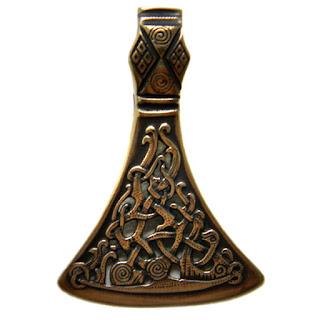 купить кулон секира бронзовые украшения россия симферополь