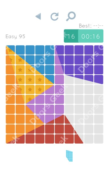 Cheats, Walkthrough for Blocks and Shapes Level 95