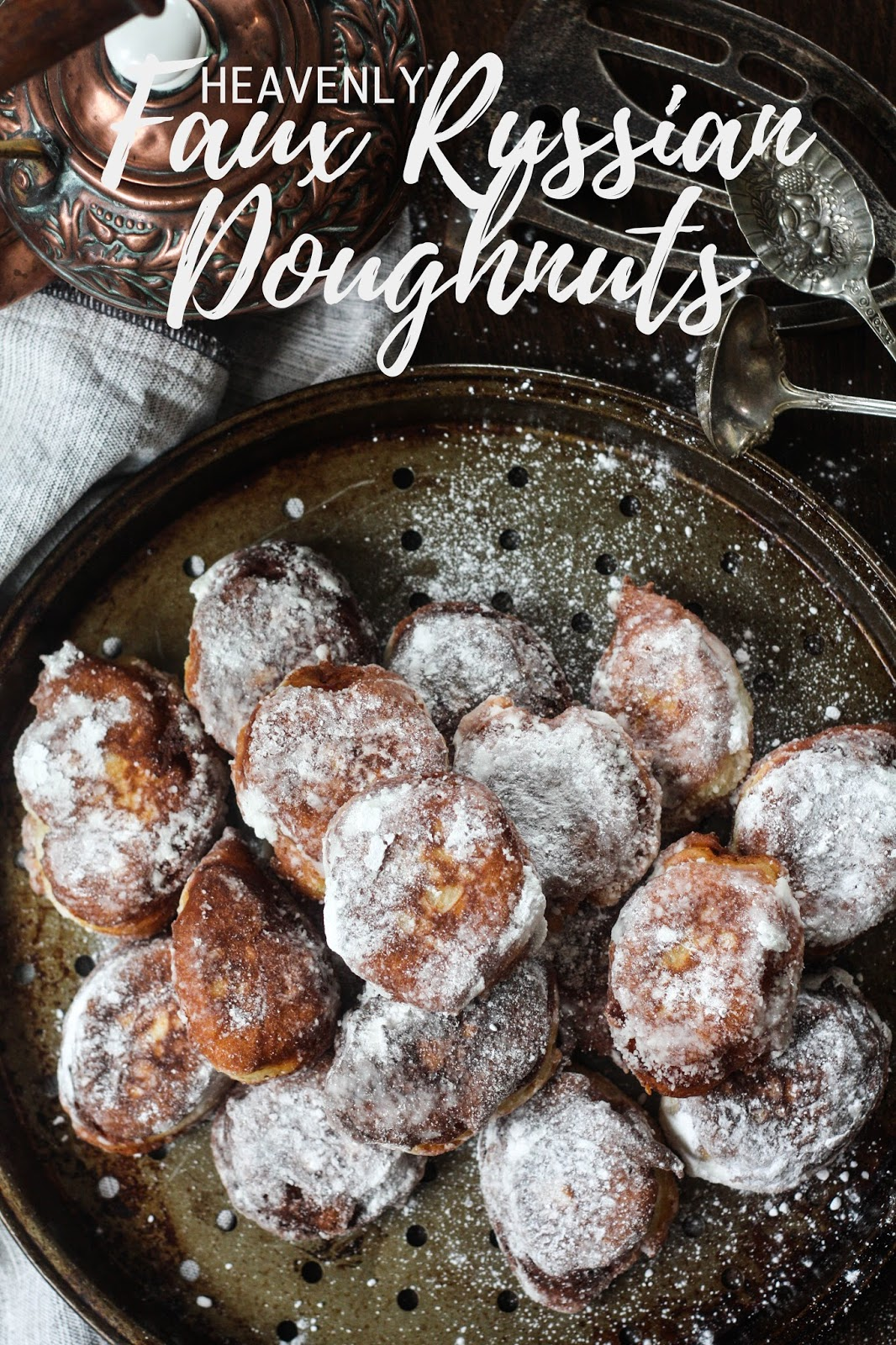 Heavenly faux Russian doughnuts