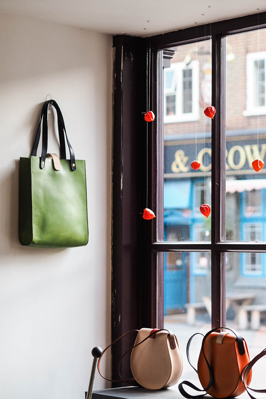 Tinct bags pop-up in Flat Iron Square