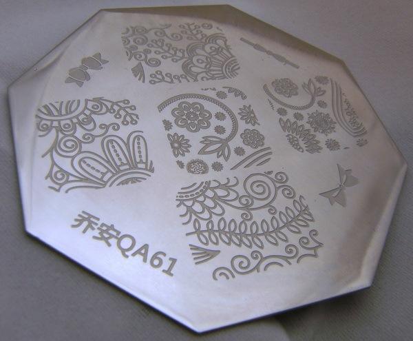 QA61 stamping plate