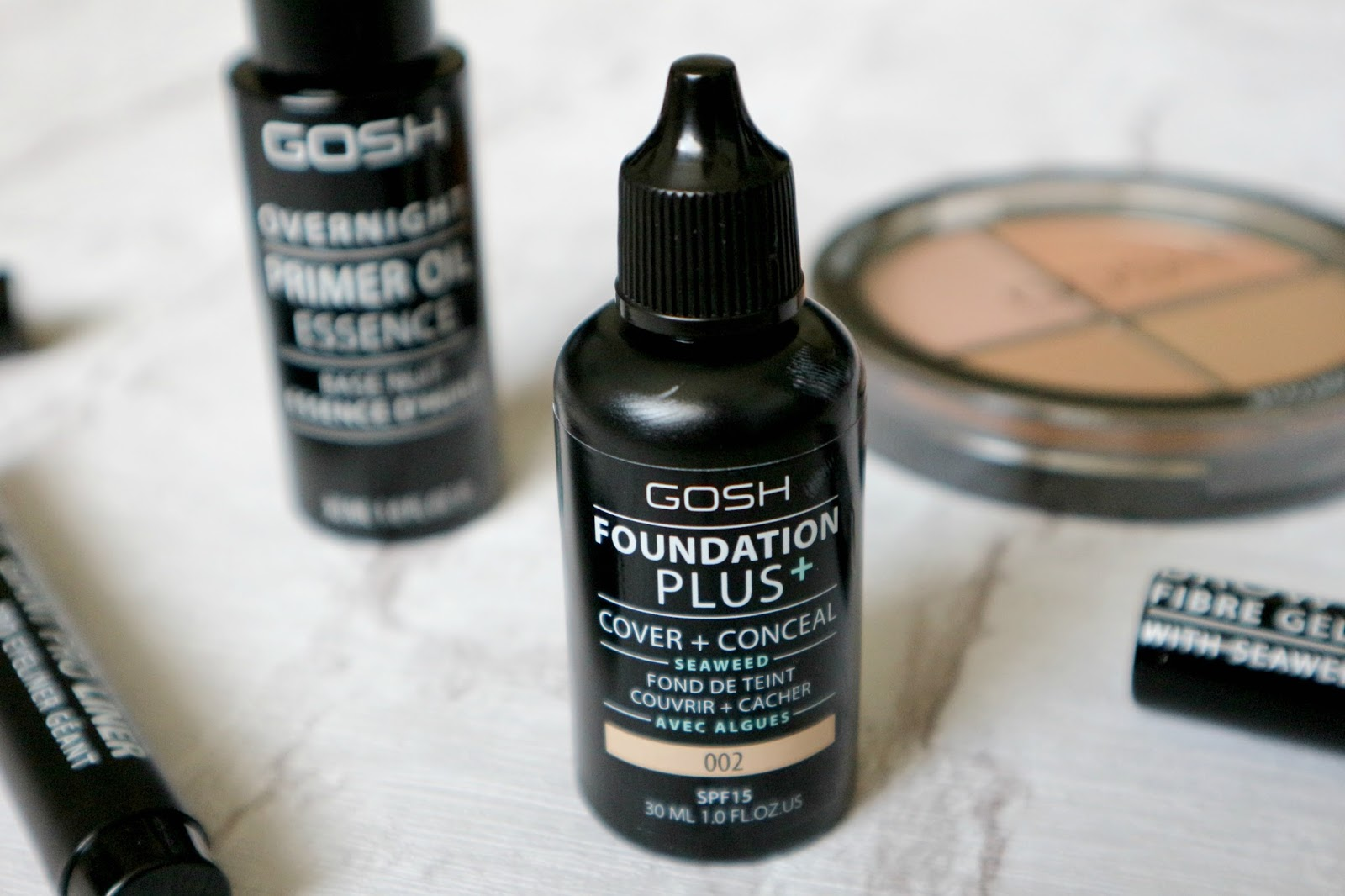 GOSH Foundation + Cover + Conceal