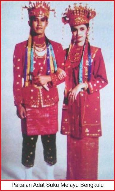 gambar pakaian adat suku melayu bengkulu