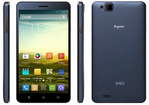 IMO Raptor: HP Android Murah Terbaru Dengan Processor Quad-Core MT6582