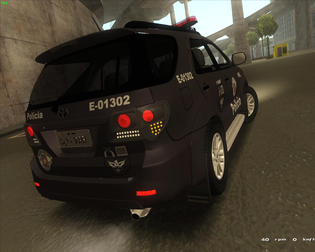 equipe tatica 3d 174 187 mods policiais em geral toyota hilux
