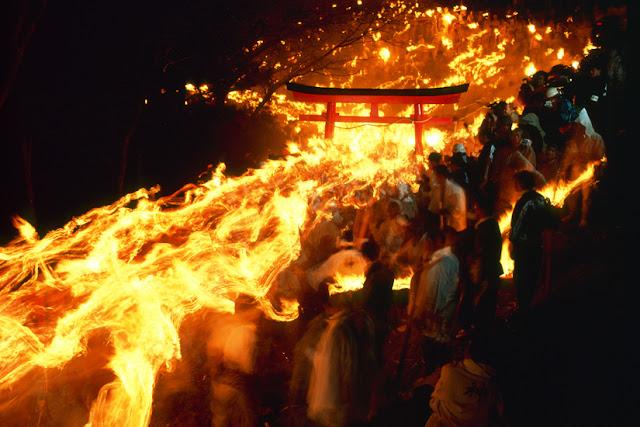 Otou Matsuri (Fire Festival), Shingu, Wakayama
