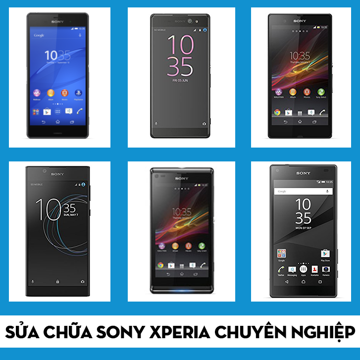 Thay mặt kính Sony Xperia giá rẻ