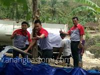 JNE Salurkan Bantuan Air Bersih Di WonogiriManaje