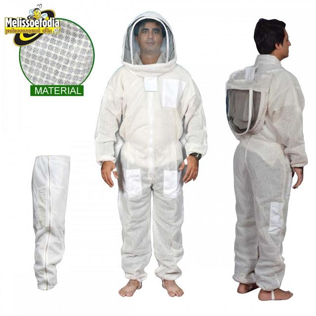 Ήρθε και στην Ελλάδα η αεριζόμενη στολή μελισσοκομίας από τα Melissoefodia