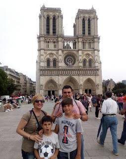 Catedral de Notre Dame, París.