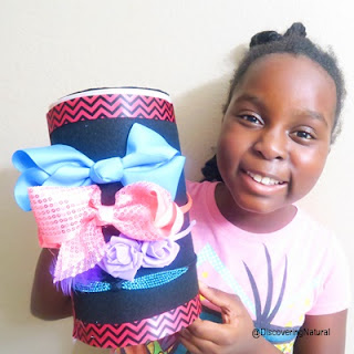 How To Create A HeadBand Holder Organizer |  African Naturalistas