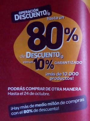 80% descuento carrefour