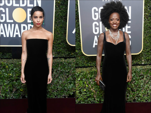 Golden Globes 2018: My personal Best Dressed