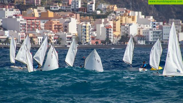 Kuan Deutschen en Optimist y Dayalis Sánchez en Láser 4.7 lideran de forma contundente la clasificación provisional del Campeonato Insular de Vela - Trofeo Cabildo de La Palma