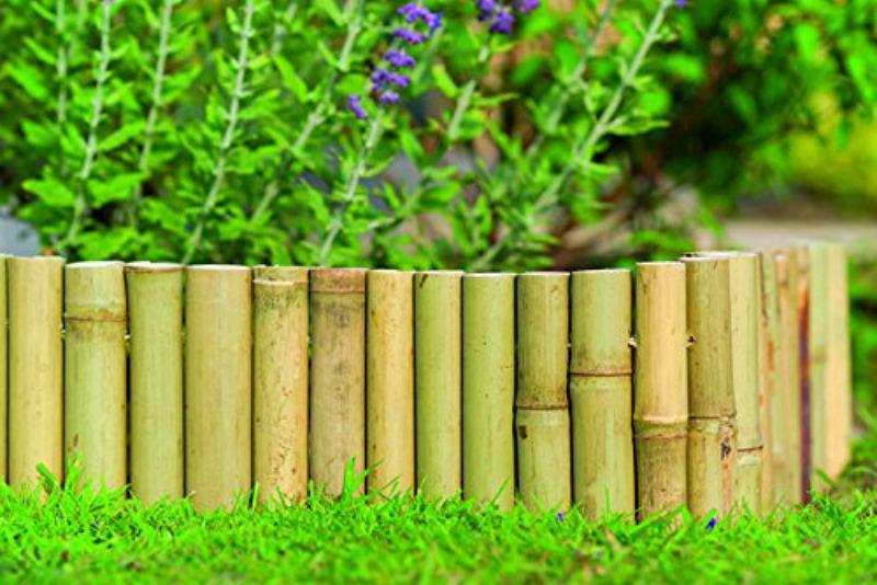 Bordillo de bambú