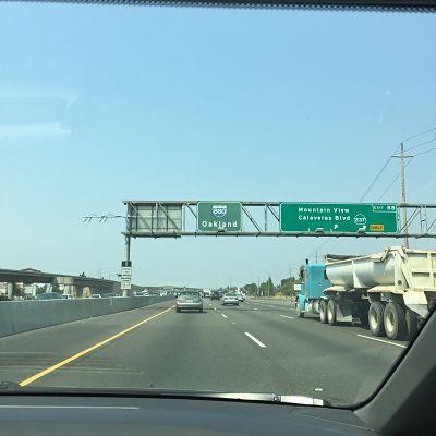 Silicon Valley. Camino de Oakland. Calavera