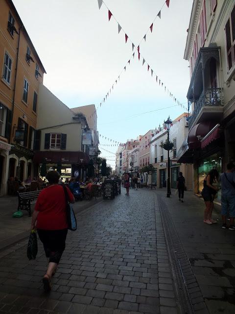calles del centro de Gibraltar