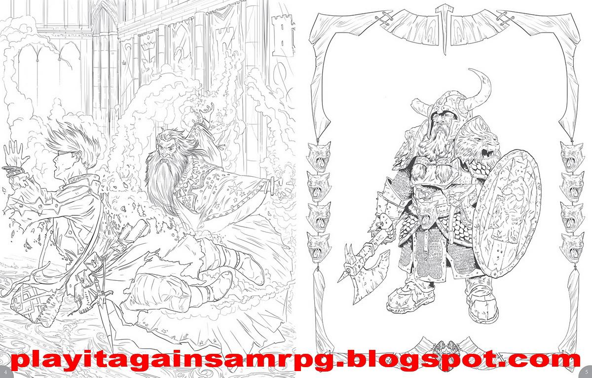 Play it again, Sam: Pinta y colorea con Dungeons & Dragons ...