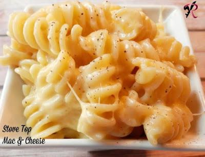 Stove Top Mac & Cheese.