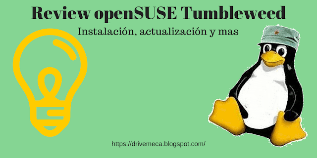 Review openSUSE Tumbleweed