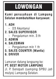 PT. Best Motor Lampung