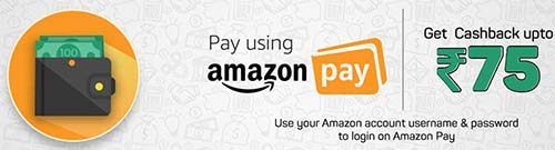 Pay via Amazon Pay on BookMyShow and get Cashback Upto Rs.75/-