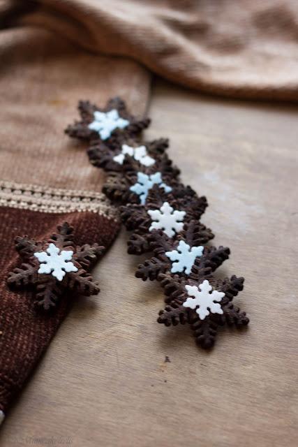 biscotti al cacao natalizi