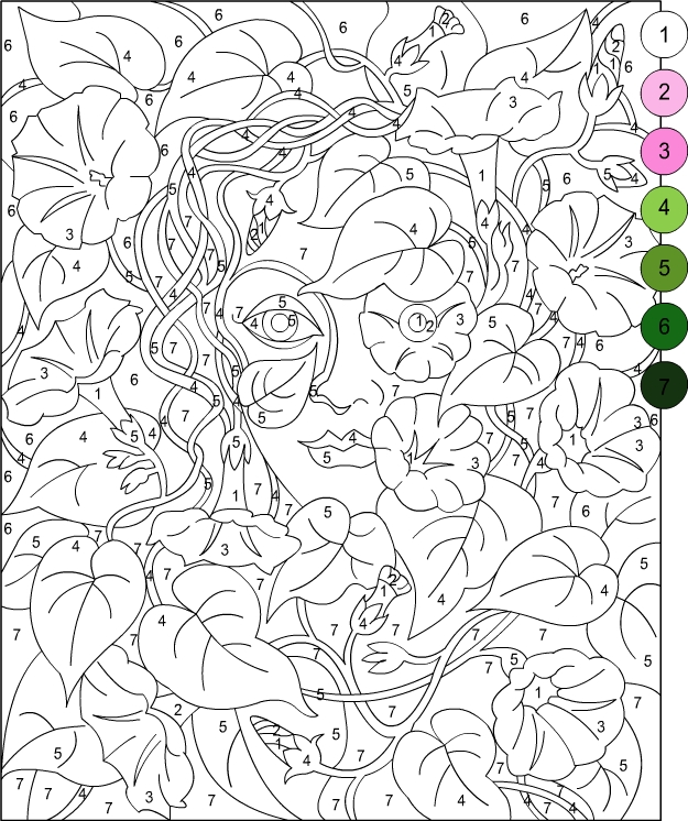 Color By Number Coloring Pages For Adults Coloring Pages Color By Number Coloring Pages For Adults