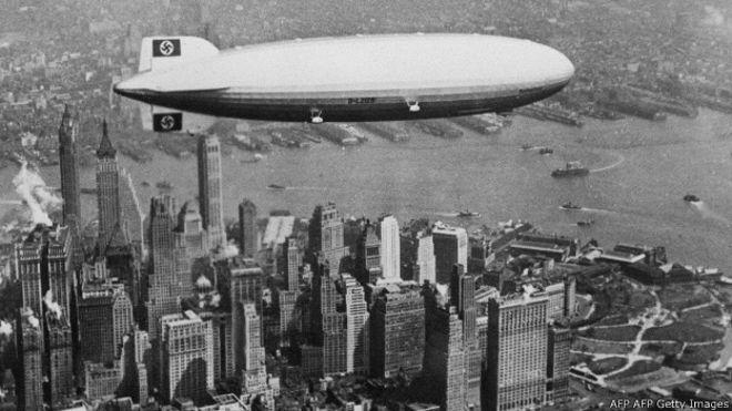 Así era volar en el Hindenburg, el icónico zepelín nazi que acabó envuelto en llamas